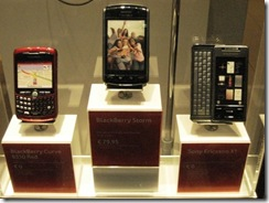 Blackberry Storm in Amsterdam