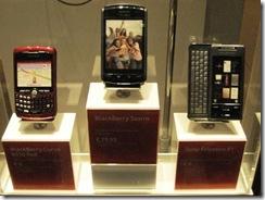 Blackberry Storm in Amsterdam